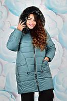Зимняя куртка женская большого размера недорого в интернет-магазине Украина Россия ( р. 54-60 )
