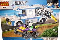 Конструктор COGO City 4151 Полицейская техника, 261 дет