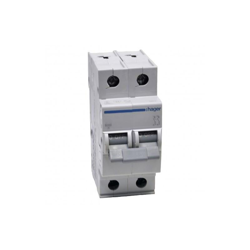 Автоматический выключатель MB240A ln=40А, 2р, B, Hager