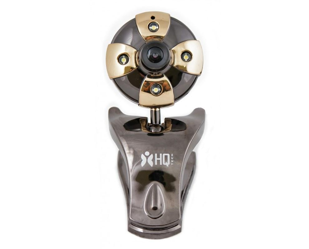 Web камера HQ-Tech WU-9008 Black, 1.3 Mpx, 1280x1024, USB 2.0, встроенный микроф
