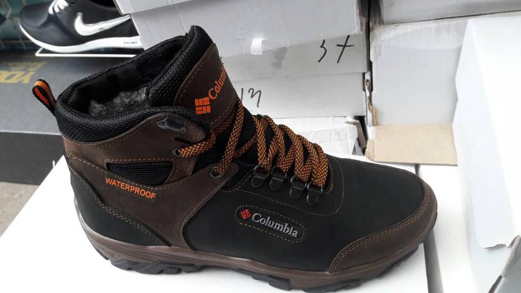26a76c2cdbdb Мужские зимние кожаные ботинки Columbia реплика  продажа, цена в ...