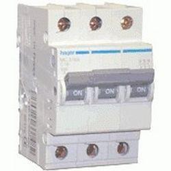 Автоматичний вимикач MB350A ln=50А, 3р, B, Hager