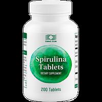 Спирулина в таблетках Spirulina - содержит витамины группы В,железо,магний,селен,B12, для иммунитета,похудания