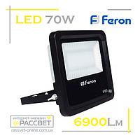 Світлодіодний прожектор LED Feron LL-670 70W 135LED 6400K 6900Lm, фото 1