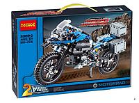 Конструктор Decool 3369А 2-в-1 Мотоцикл BMW R 1200 GS Adventure (аналог Lego Tehnic), 603 дет.