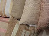 Комплект подушок беж коричневі теракот , 6шт, фото 5
