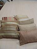 Комплект подушок беж коричневі теракот , 6шт, фото 6