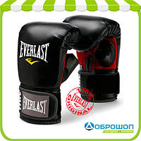 Перчатки снарядные Everlast PU Heavy Bag Gloves черный