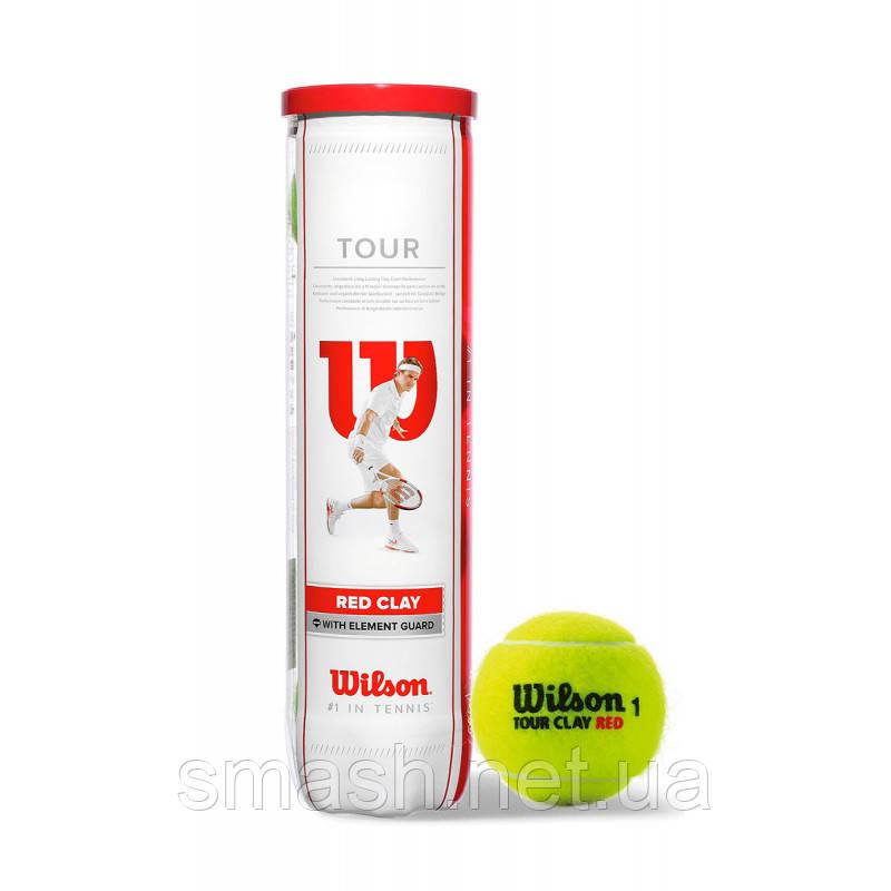 Теннисные мячи Wilson Tour Red Clay