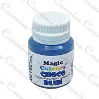 Сухой краситель Magic Colours для шоколада - Синий - 5 г