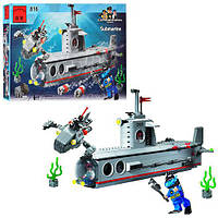 "Конструктор Brick 816 ""Подводная лодка"" Submarine из серии Combat Zones"