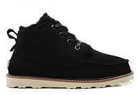 Ботинки зимние мужские замшевые UGG David Beckham Boots Black Оригинал.