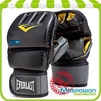 Перчатки снарядные Everlast Evergel Wristwrap Heavy Bag Gloves черный