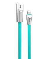 Кабель Hoco X4 Lightning iphone (Blue), фото 1