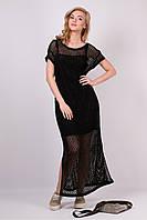 Сукня Сітка чорна