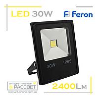 Светодиодный LED прожектор Feron LL-838 30W COB 6400K 2400Lm, фото 1
