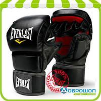 Перчатки тренировочные Everlast MMA Striking Training Gloves черный
