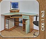 Стол компьютерный СКК - 1 № 3 (Континент) 1000х1350х760мм, фото 4