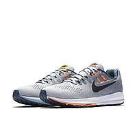 Кроссовки мужские Nike Air Zoom Structure 20 Men Black Grey White Shoes 849576-006