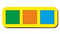 Сложи квадрат, Б.П.Никитин, 3 квадрата, ур.1, 240*90 мм, 064101