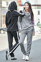 Спортивный костюм Пайетка норма (4 цв), трикотажный спортивный костюм, женская спортивная одежда,
