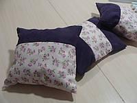 Комплект подушек Розочки сирень, 3шт, фото 1