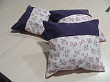 Комплект подушок Трояндочки бузок, 3шт, фото 2