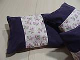 Комплект подушок Трояндочки бузок, 3шт, фото 4
