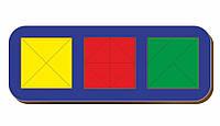 Сложи квадрат, Б.П.Никитин, 3 квадрата, ур.3, 240*90 мм, 064106