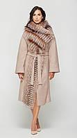 Женское зимнее пальто с натуральным мехом ПВ-32 (р.44-52)