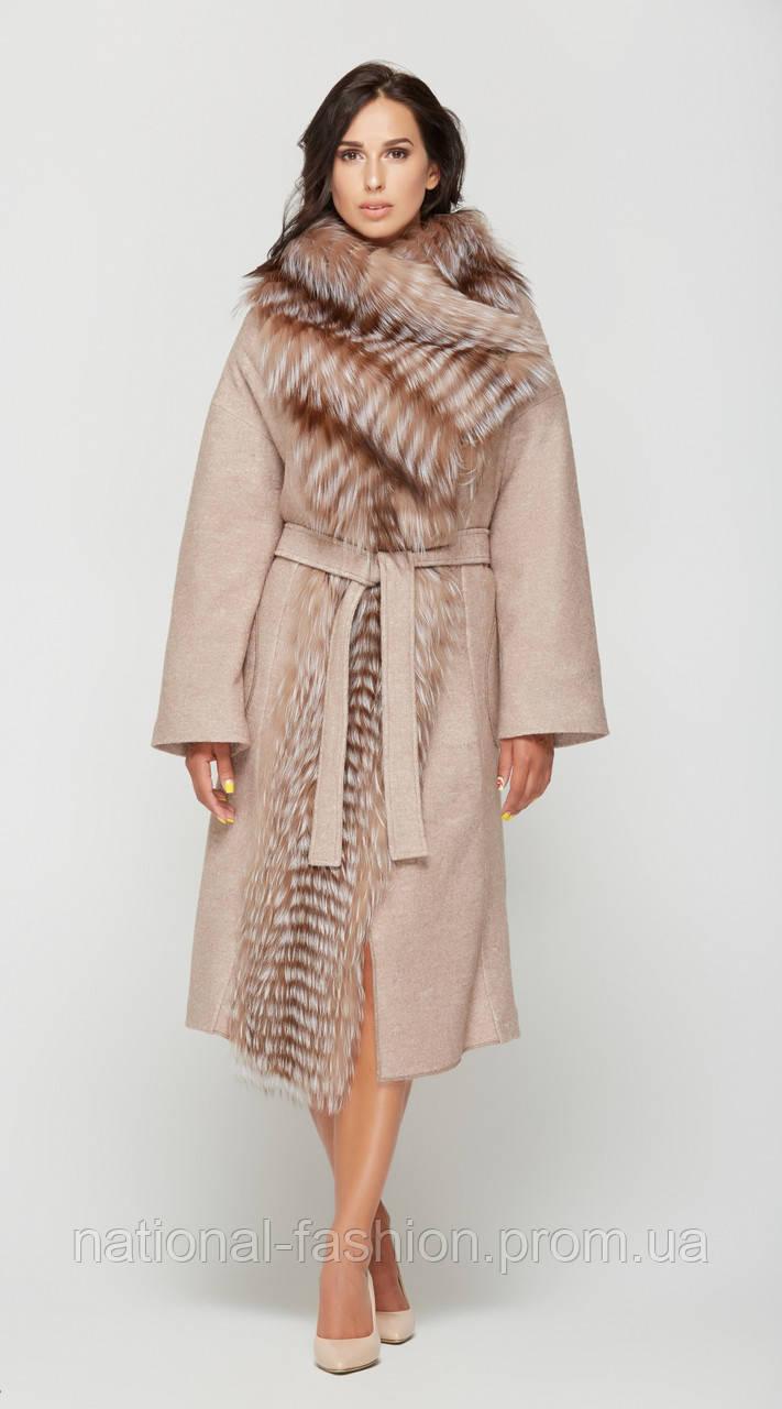9c4cc0c63f0 Женское зимнее пальто с натуральным мехом ПВ-32 (р.44-52)