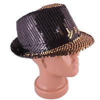 Шляпа с полями, пайетки