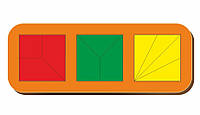 Сложи квадрат, Б.П.Никитин, 3 квадрата, ур.2, 240*90 мм, 064104