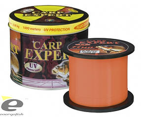 Леска Carp Expert UV Fluo Orange 0,35мм 1000м