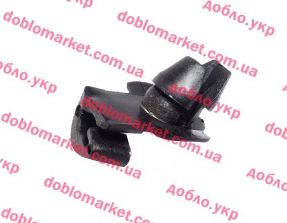 Клипса (пружинка) крепления тросика замка двери Doblo 2009-, Арт. 7739382, 7739382, FIAT