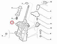 Рычаг (кулиса) переключения передач 1.3MJTD Fiorino-Qubo 2007-2016, Арт. 55228948, 55228948, FIAT