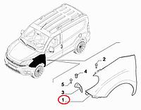 Крыло правое Doblo 2015-, Арт. 51973881, 51973881, FIAT