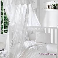 Балдахин к кроватке Funna Baby белый (26061)