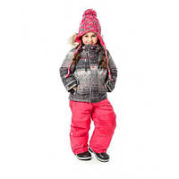 Зимний комплект (куртка + штаны) NANO  252 M F17 Smokey Grey / Coral