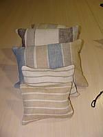 Комплект подушек  полосочка натуралка, 5шт, фото 1