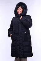 Пальто женское большого размера зимнее Канада, (2цв) пальто из плащевки на зиму