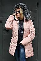 Куртка зимняя Париж (3 цвета), женская зимняя куртка, пуховик, от производителя, дропшиппинг