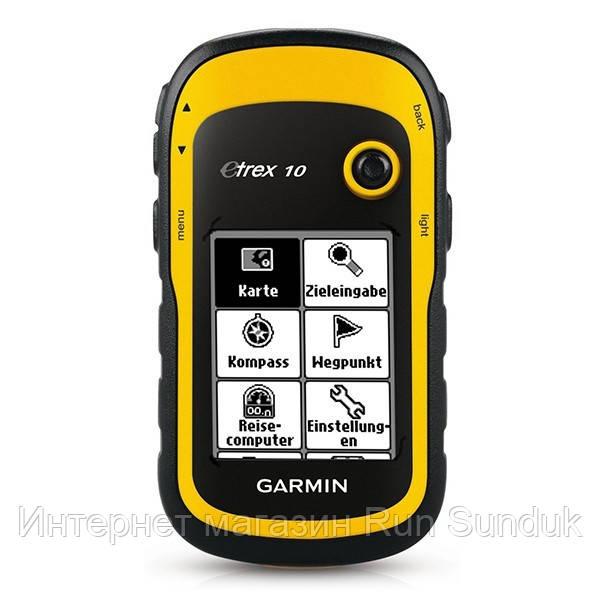 Garmin etrex 10 инструкция по эксплуатации.
