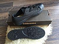 Converse кеды черные