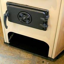 Дровяная угловая печь-камин Corner, фото 2