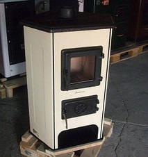 Дровяная угловая печь-камин Corner, фото 3