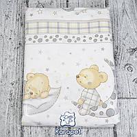 Постельное белье в детскую кроватку 3 предмета