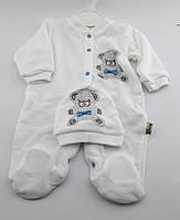 Детский костюм 0, 3, 6, 9 месяцев Турция оптом