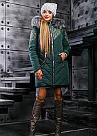 Женская теплая зимняя куртка 2356