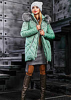 Женская теплая зимняя куртка 2357